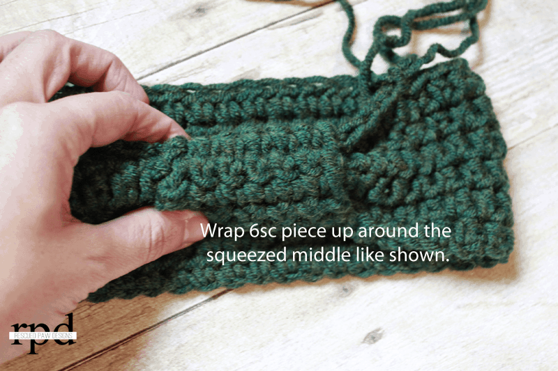 Crochet Wrapped Headband Pattern - Easy Crochet