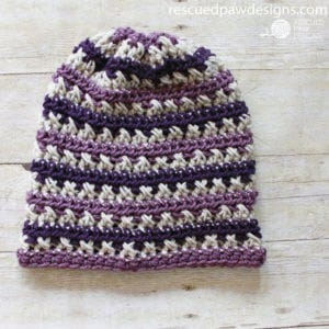 Crochet Slouch Beanie Pattern