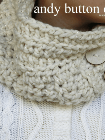 Andy Button Chunky Cowl Pattern