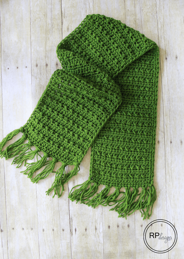 Fabulously Fall Fringe Scarf – Free Crochet Pattern - Rescued Paw Designs