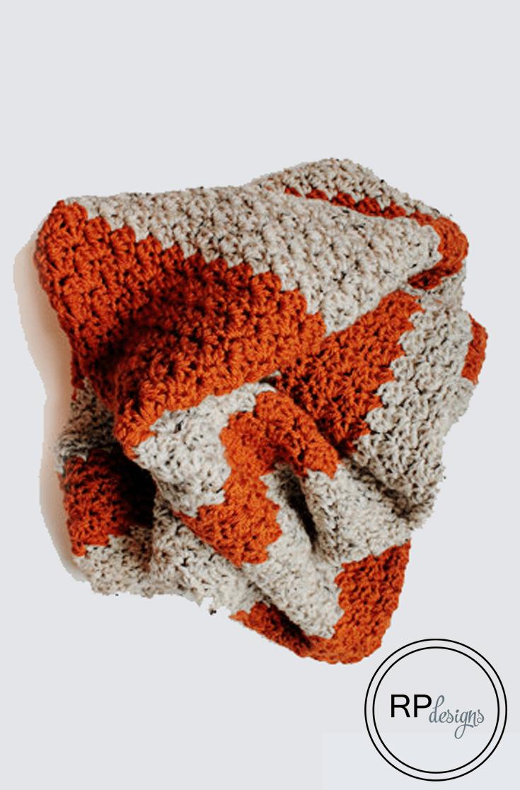 Fall Crochet Blanket Pattern