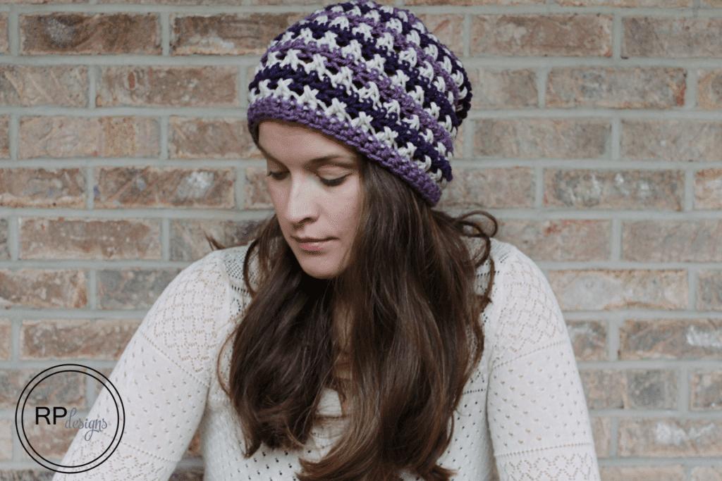 Crochet Slouchy Beanie Crochet Pattern Crochet Slouchy Beanie