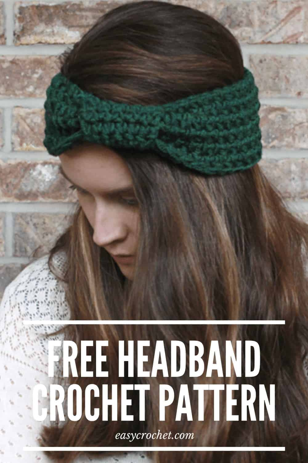 Wrapped Headband Crochet Pattern from Easy Crochet - Free Crochet Headband Pattern via @easycrochetcom