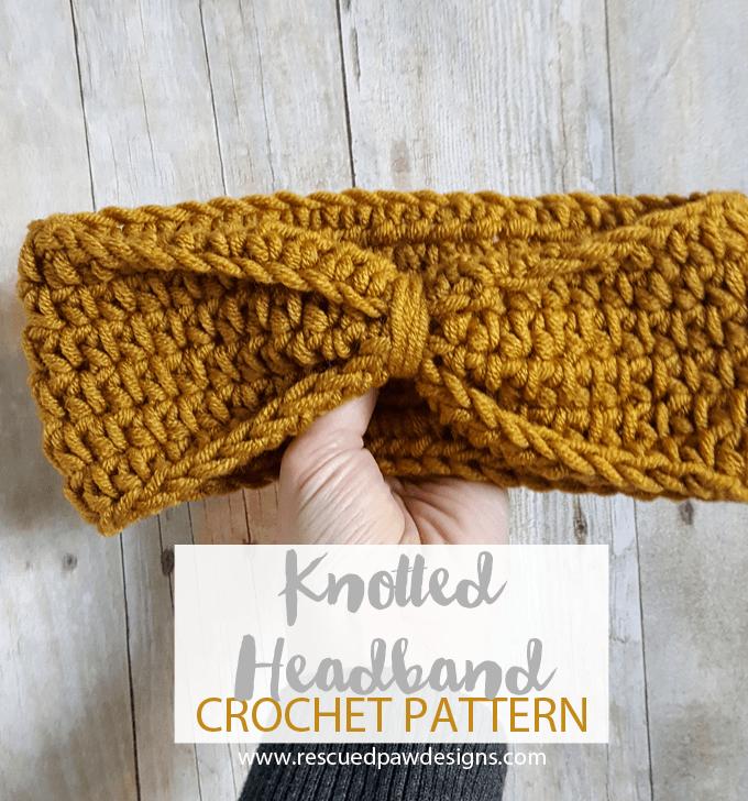 Knotted Headband Crochet Pattern