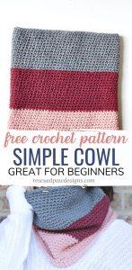 Crochet Cowl Pattern Easy