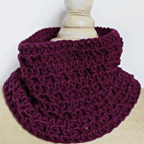 Textured Cowl – Crochet Pattern