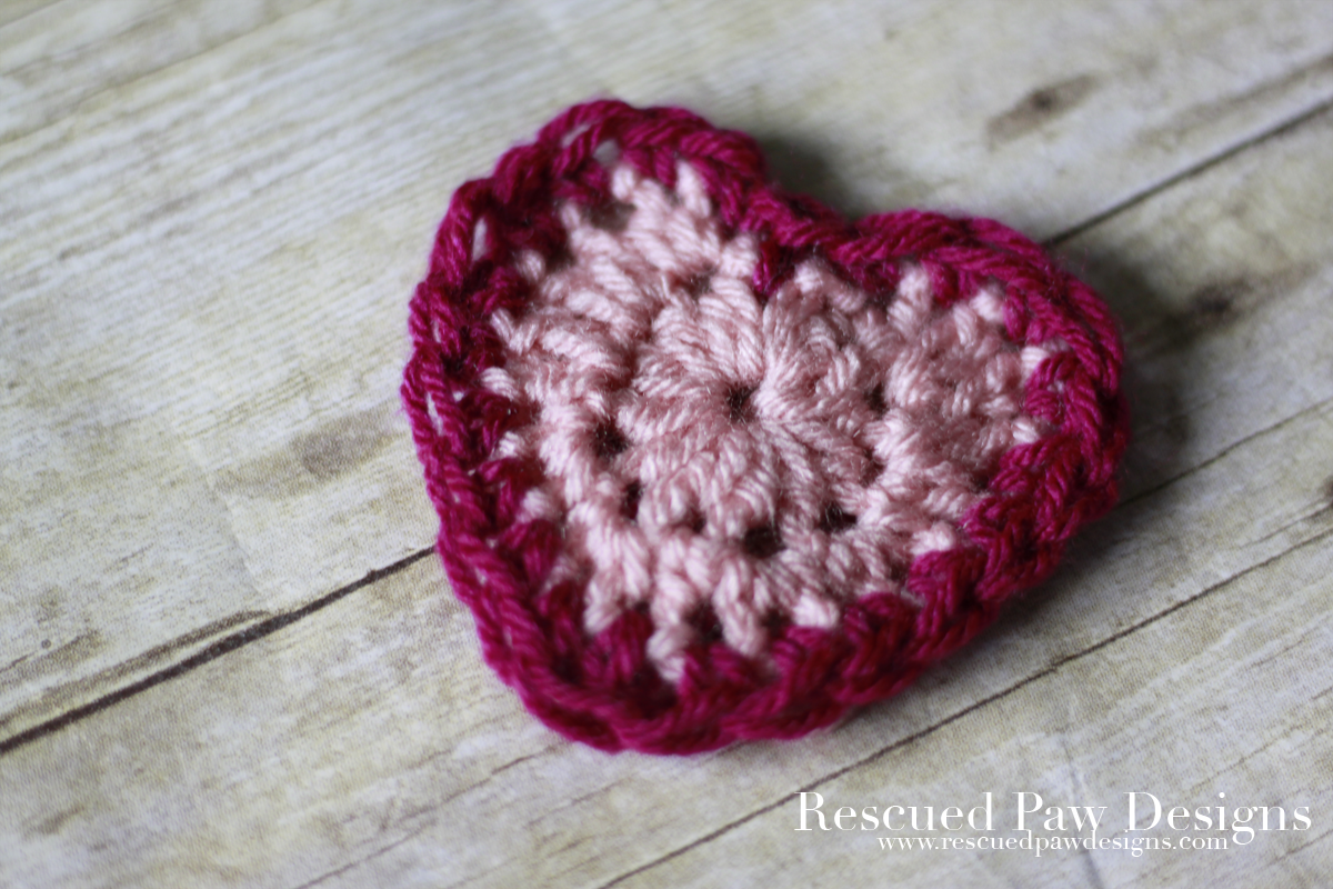 Small Crochet Heart Pattern Free