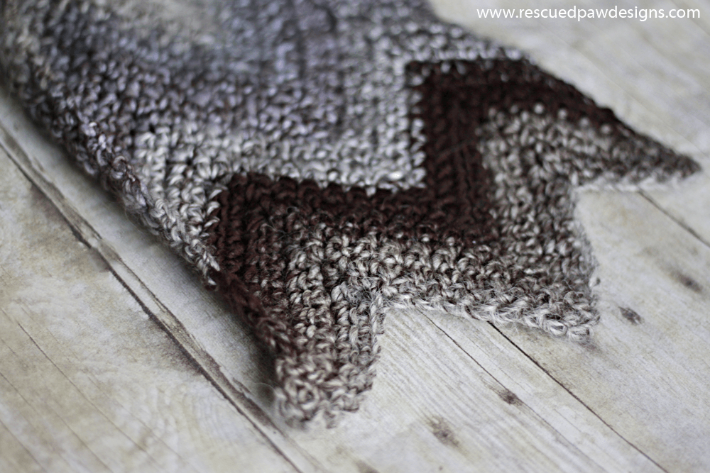 Crochet Chevron Scarf