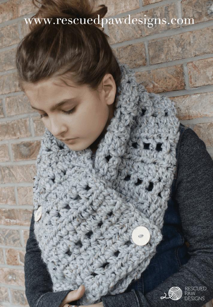 super chunky scarf crochet pattern