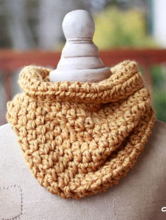 Quick One Hour Cowl Crochet Pattern