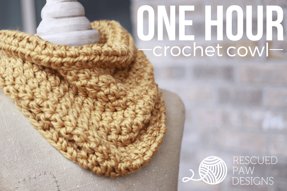 Crochet Cowl Pattern for Beginners