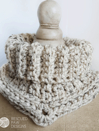 CUELLO CARA – Patrón de crochet gratis