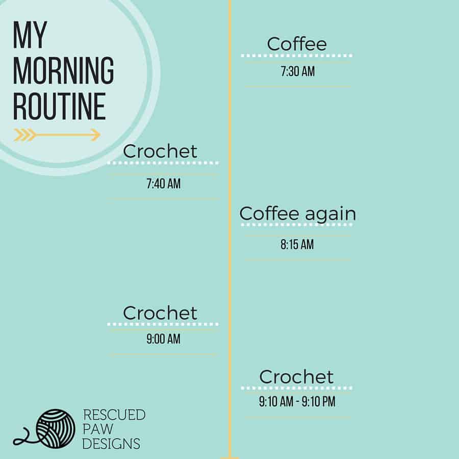 Crochet Patterns, Project Totes & a Dream Crochet Day - Easy Crochet