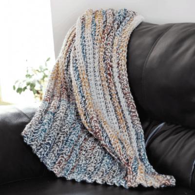 Chunky Crochet Blanket Pattern
