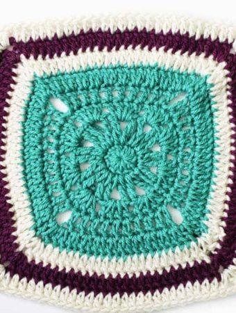 Crochet Blanket Square