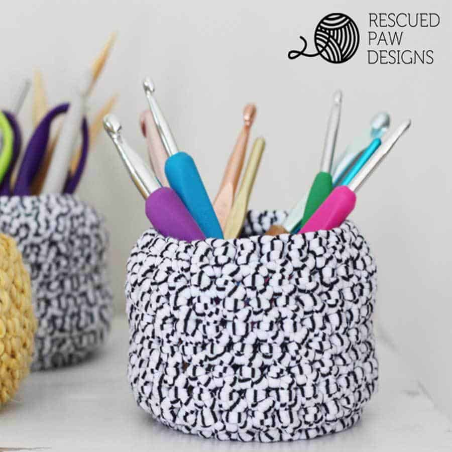 Mini Basket Crochet Pattern