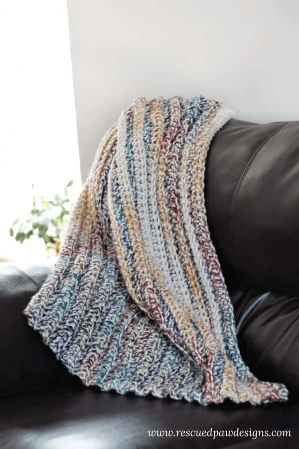 Chunky Crochet Blanket Pattern - Free Crochet Pattern