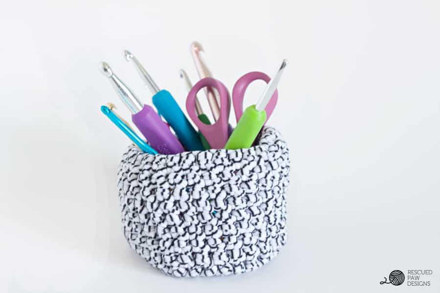Little Crochet Basket Pattern