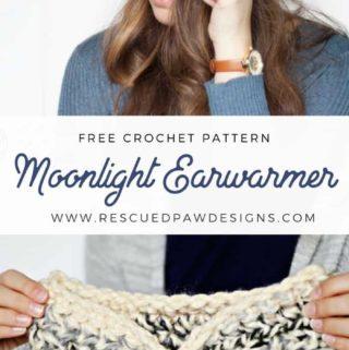 Crochet Chunky EarWarmer Pattern