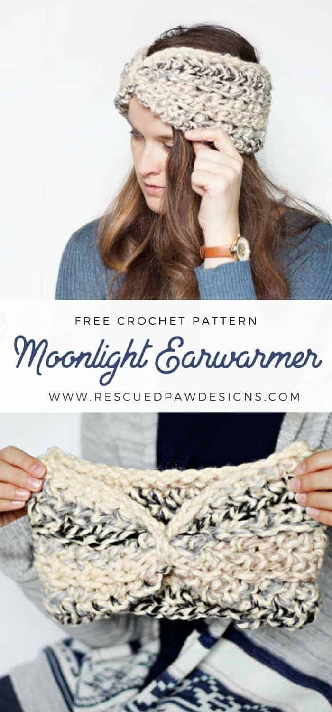 Easy Crochet Ear Warmer Pattern - Great Beginner Ear Warmer Pattern