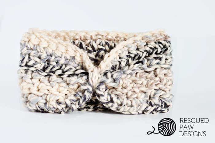 Free EarWarmer Crochet Pattern by Rescued Paw Designs