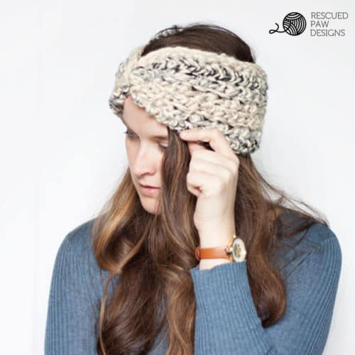 Easy Ear Warmer Crochet Pattern for Beginners
