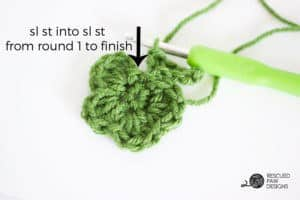 How to Make a Crochet Shamrock