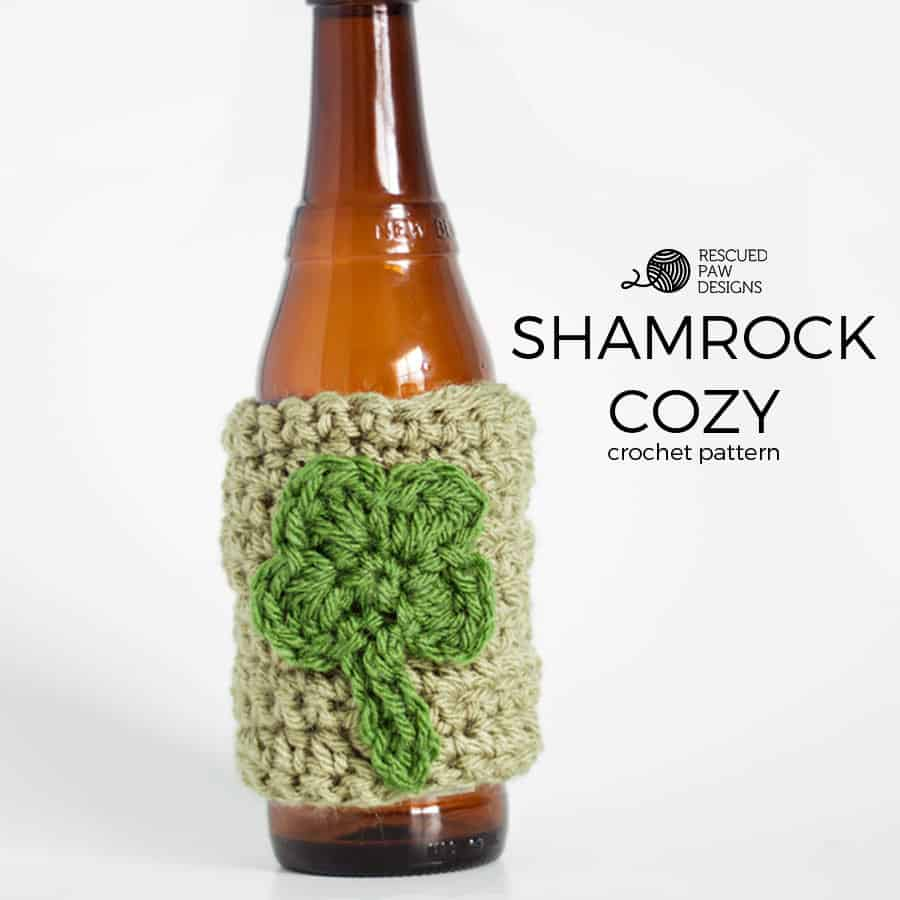 Shamrock Crochet Cozy Pattern
