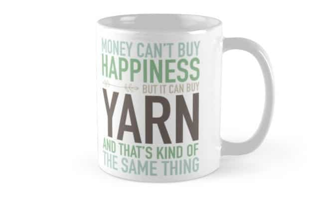 Yarn Mug - Gifts Crocheters & Knitters will love!