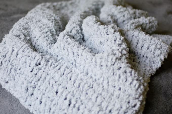 Soft Crochet Baby Blanket Pattern