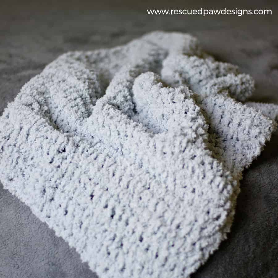So Soft Baby Blanket Crochet Pattern by Rescued Paw Designs - Click to Read or Pin and Save for Later