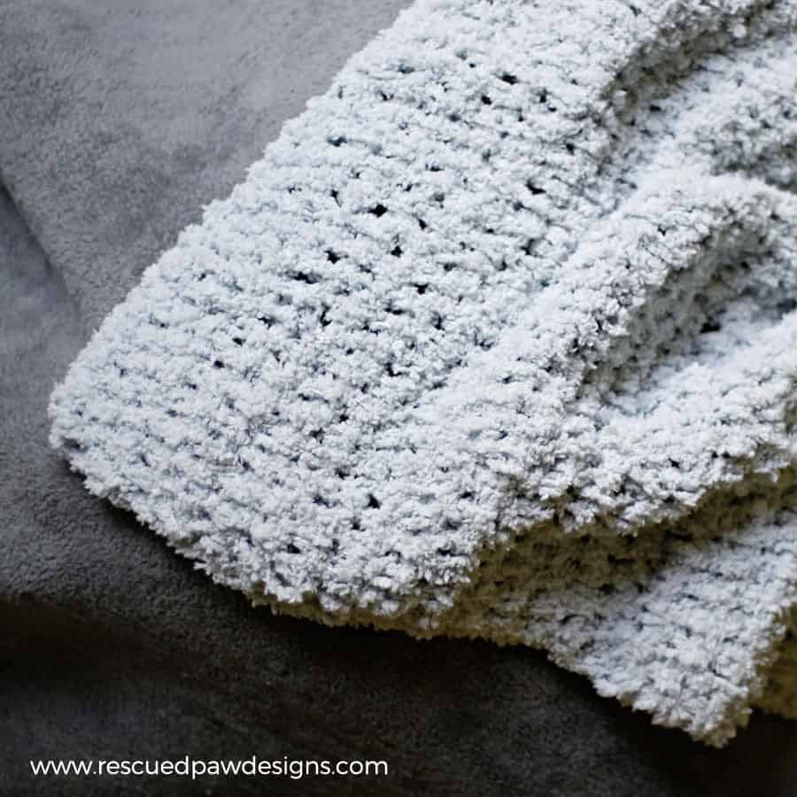 So Soft Baby Blanket Crochet Pattern by Easy Crochet - Click to Read or Pin and Save for Later!