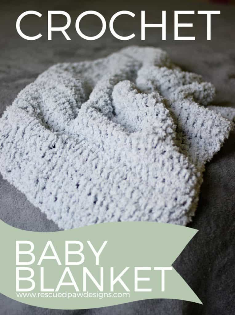 So Soft Baby Blanket Crochet Pattern by Rescued Paw Designs - Click to Read or Pin and Save for Later! FREE Crochet Baby Blanket Pattern