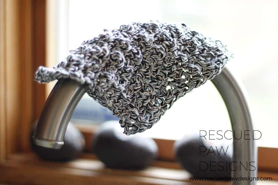Dishcloth Crochet Pattern by Rescued Paw Designs |