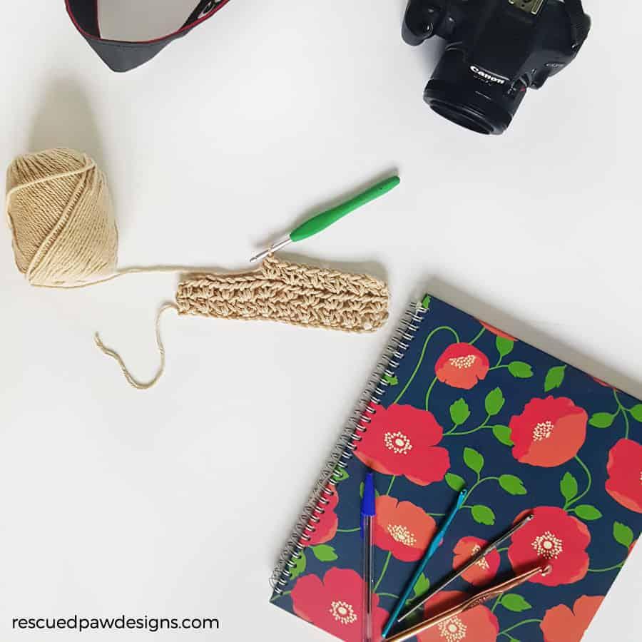 sunglasses crochet case