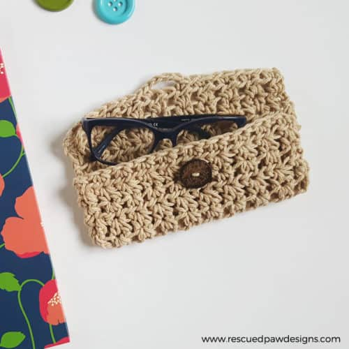 Crochet Glasses Case Pattern