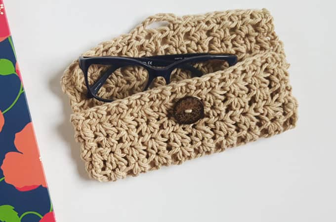 Glasses Case Crochet Pattern