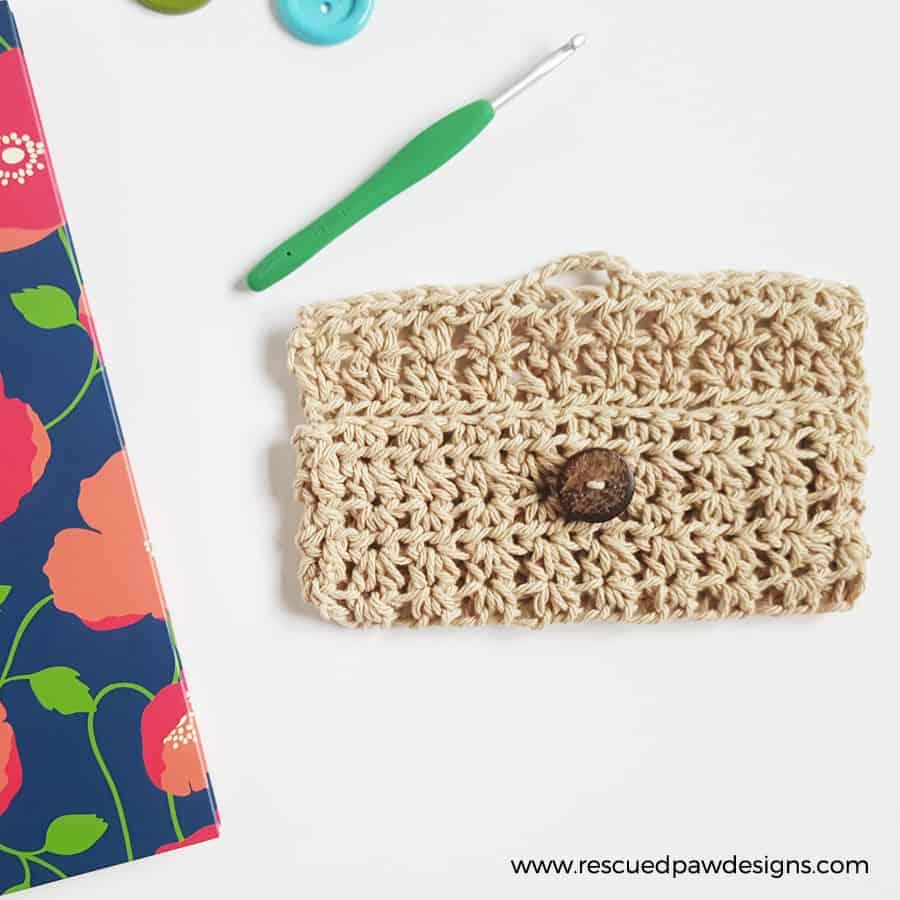 eye glass crochet holder