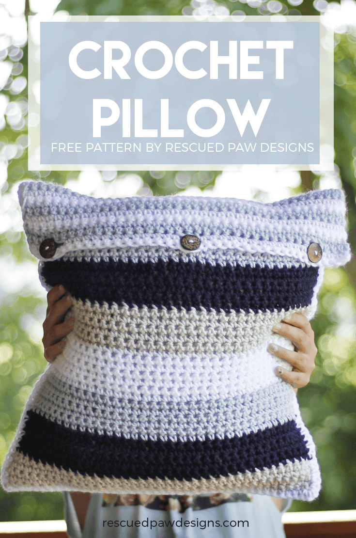 Crochet Pillow Buttons