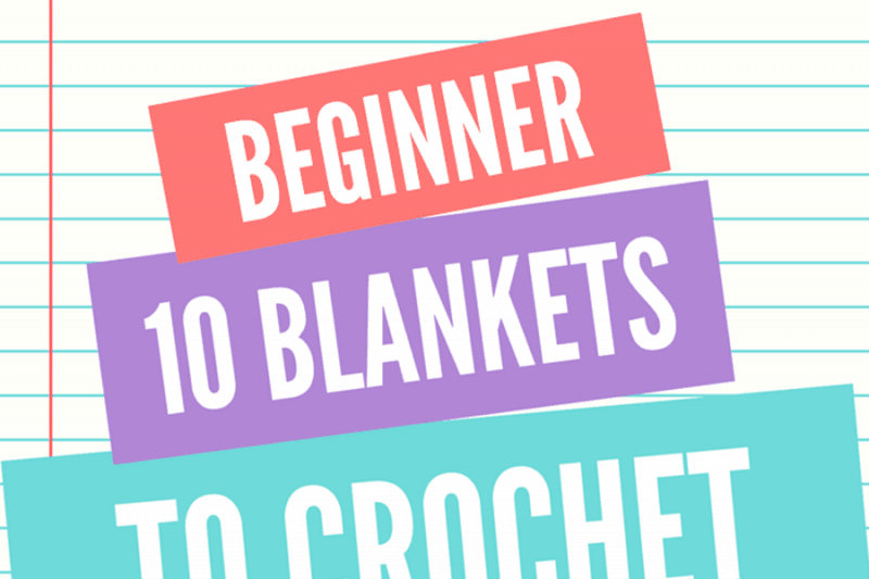 10 Blankets to Crochet for Baby