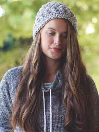 Elise Free Crochet Beanie Pattern