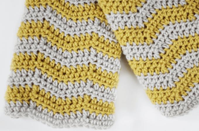Ripple Crochet Baby Blanket Pattern