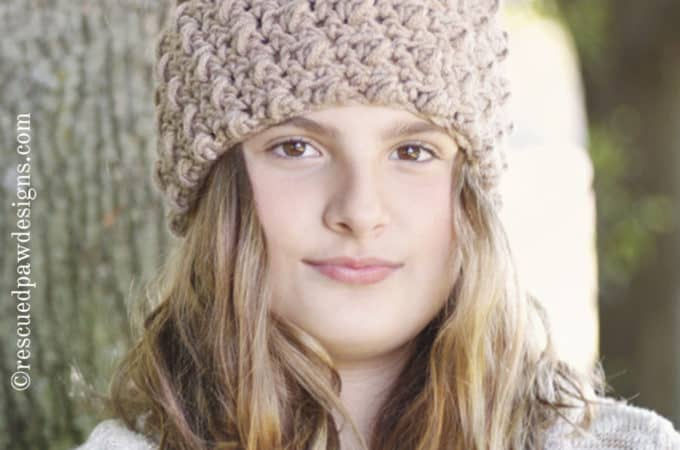 Cozy Crochet Headband Pattern