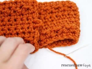 Pumpkin Latte Crochet Ear Warmer by Easy Crochet. Click to Read or Pin and Save for Later! www.easycrochet.com