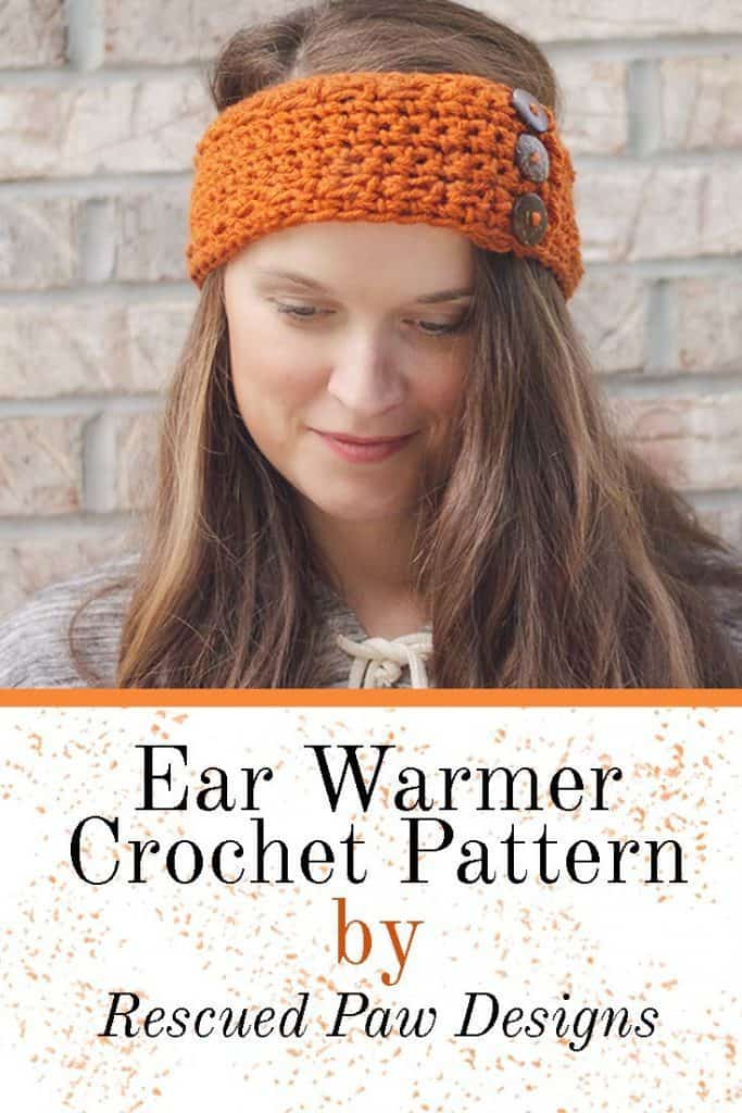 How to Crochet a Pumpkin Earwarmer ⋆ Rescued Paw Designs Crochet