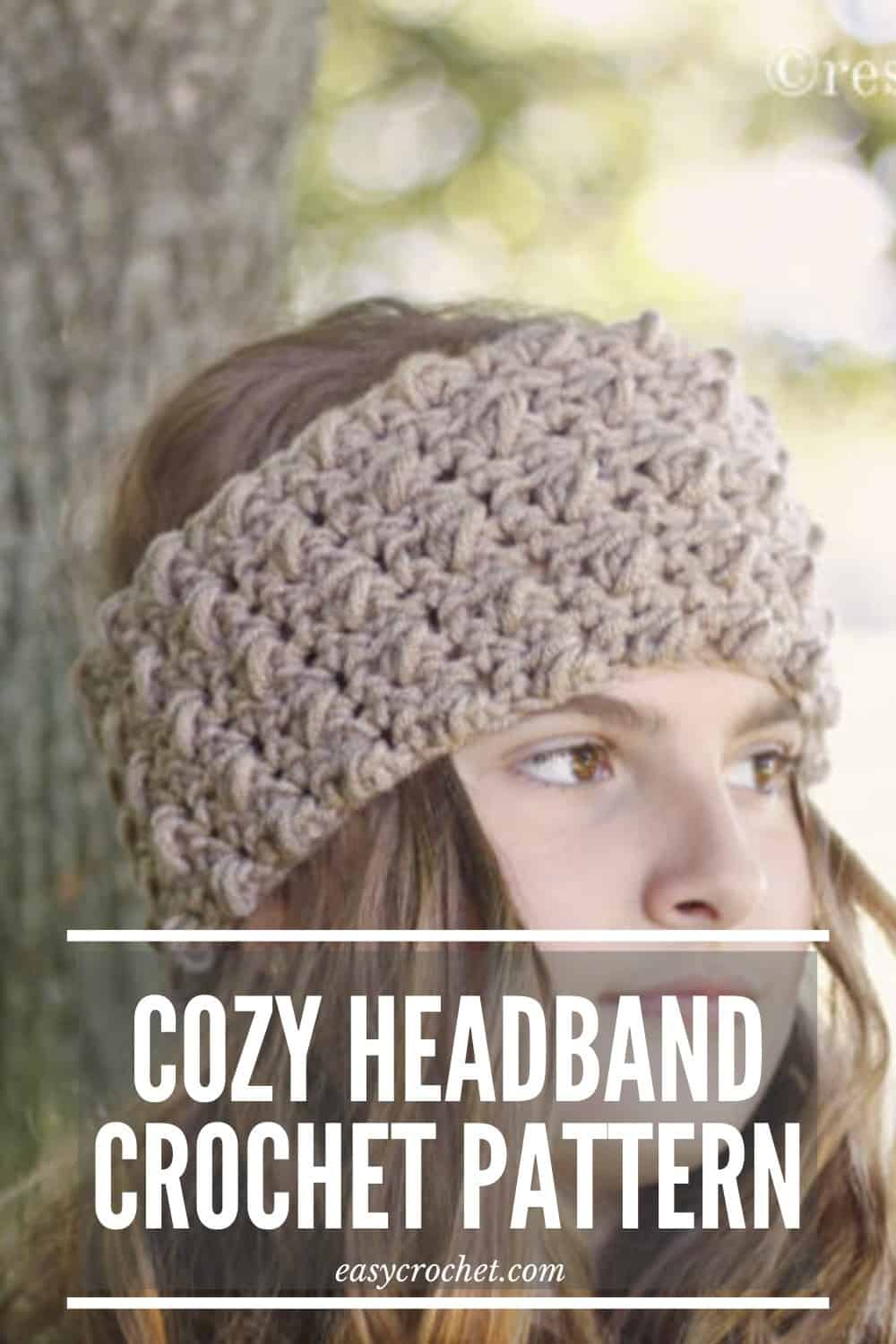 Cozy Crochet Headband Pattern via @easycrochetcom