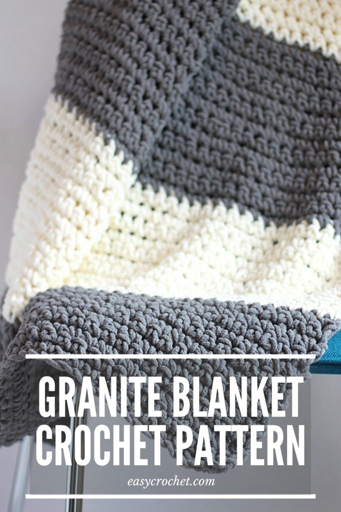 Granite Crochet Blanket Pattern