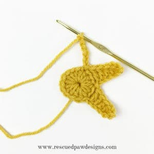 Crochet Star Garland - Free Crochet Star pattern by Rescued Paw Designs