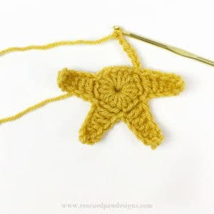 Crochet Star Garland - Free Crochet Star Pattern by Easy Crochet