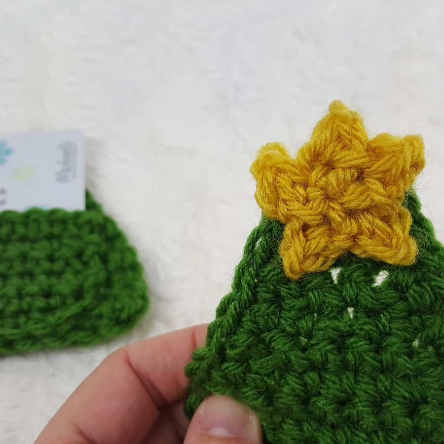 Mini Crochet Christmas Tree Pattern